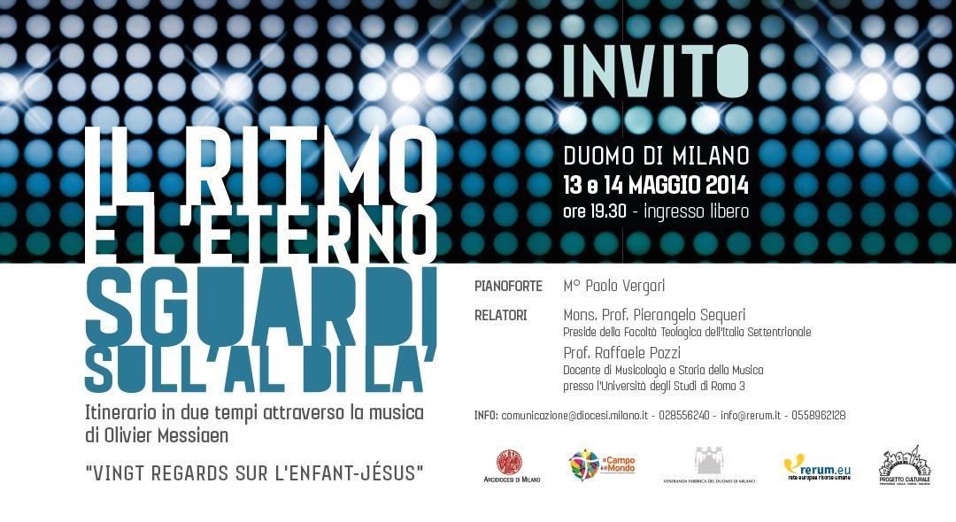 Duomo di Milano, 13 e 14 MAGGIO 2014